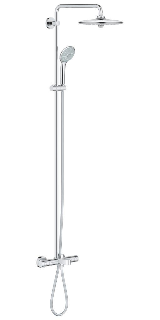 Grohe Euphoria Sprchový systém 260 s vanovým termostatem na zeď, chrom 27475001