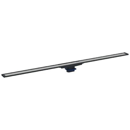 Geberit CleanLine Nerezový sprchový kanálek, 900 mm, tmavý kov 154.450.00.1