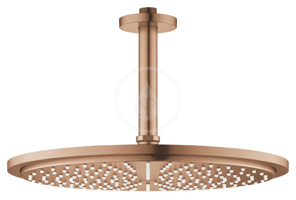 Grohe Rainshower Cosmopolitan Hlavová sprcha 310, sprchové rameno 142 mm, 1 proud, kartáčovaný Warm Sunset 26067DL0