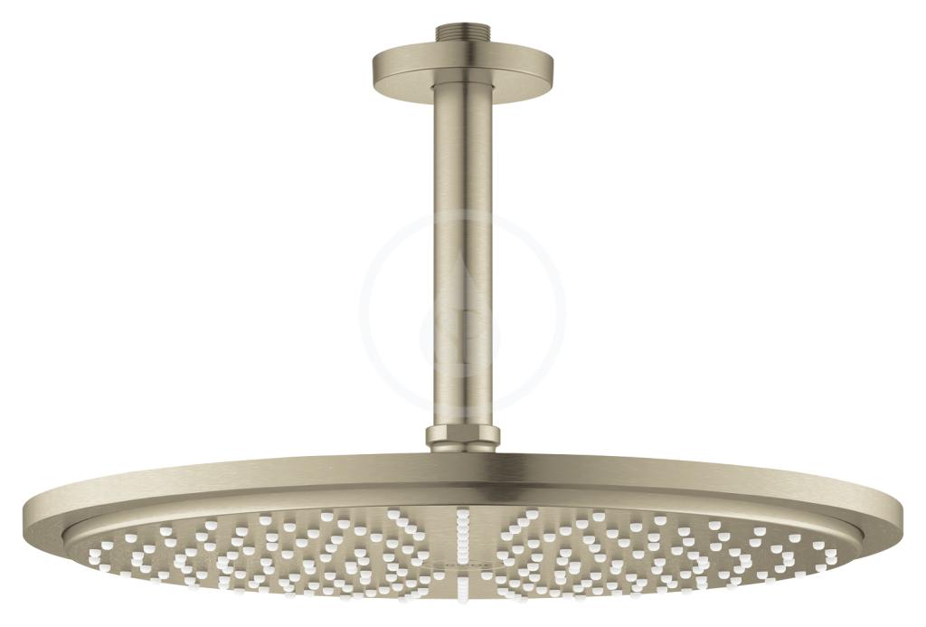 Grohe Rainshower Cosmopolitan Hlavová sprcha 310, sprchové rameno 142 mm, 1 proud, kartáčovaný nikl 26067EN0