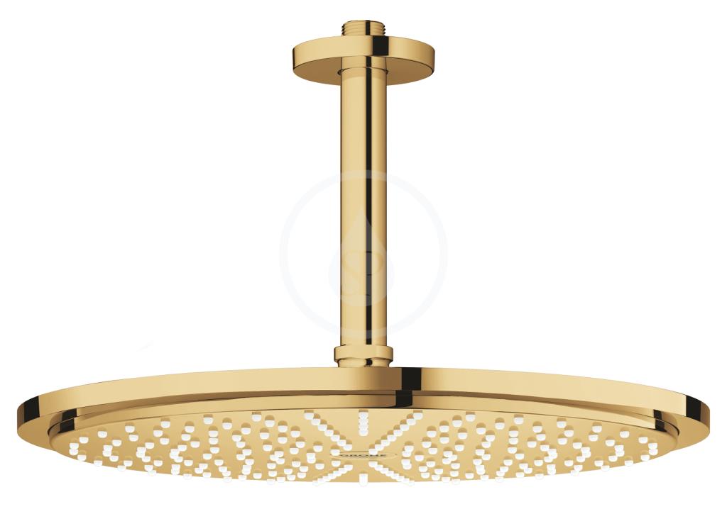 Grohe Rainshower Cosmopolitan Hlavová sprcha 310, sprchové rameno 142 mm, 1 proud, Cool Sunrise 26067GL0