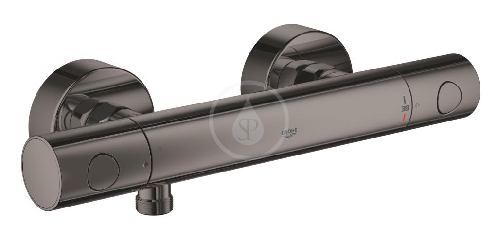 Grohe Grohtherm 1000 Cosmopolitan Termostatická sprchová baterie, tmavý grafit 34065A02