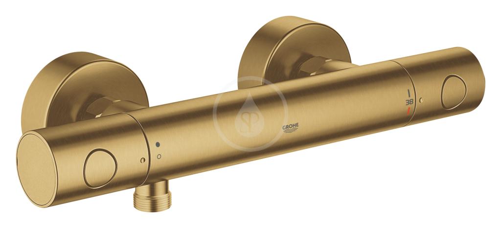 Grohe Grohtherm 1000 Cosmopolitan Termostatická sprchová baterie, kartáčovaný Cool Sunrise 34065GN2