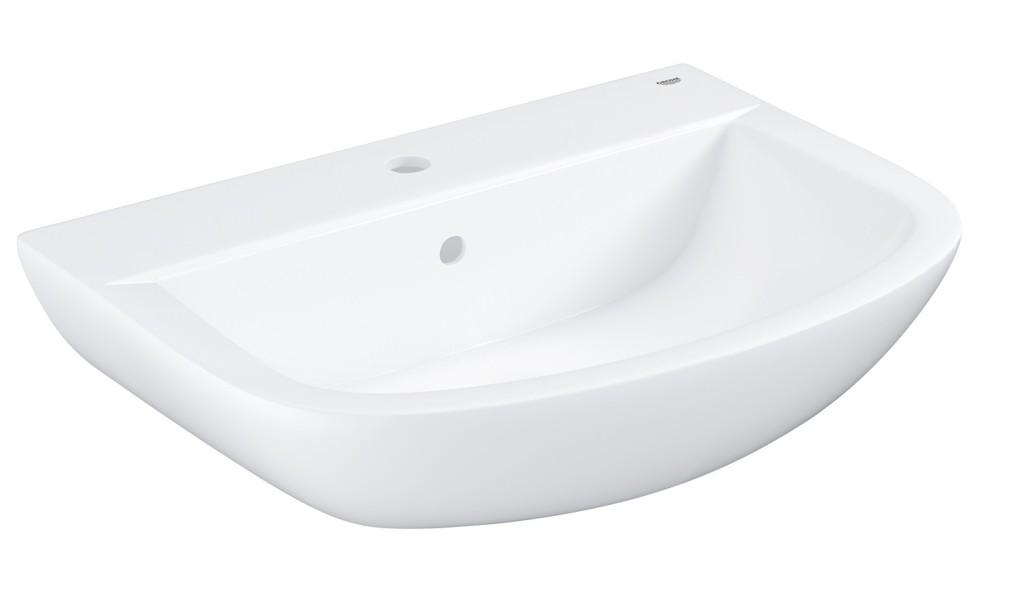 Grohe Bau Ceramic Umyvadlo s přepadem, 646 × 468 mm, alpská bílá 39420000