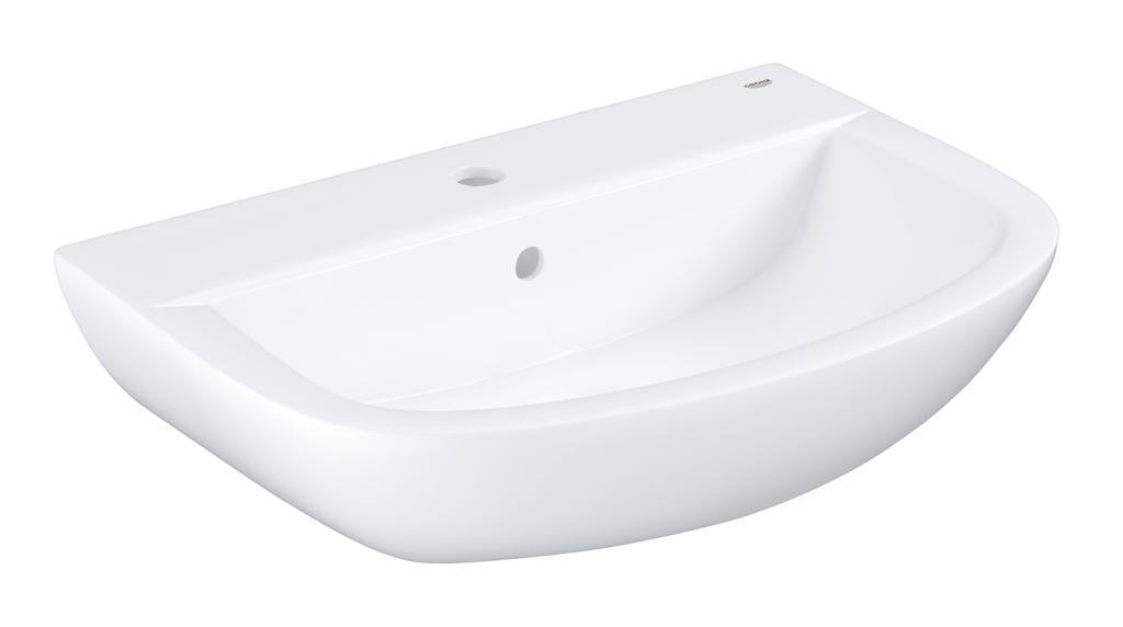 Grohe Bau Ceramic Umyvadlo s přepadem, 609 × 422 mm, alpská bílá 39421000