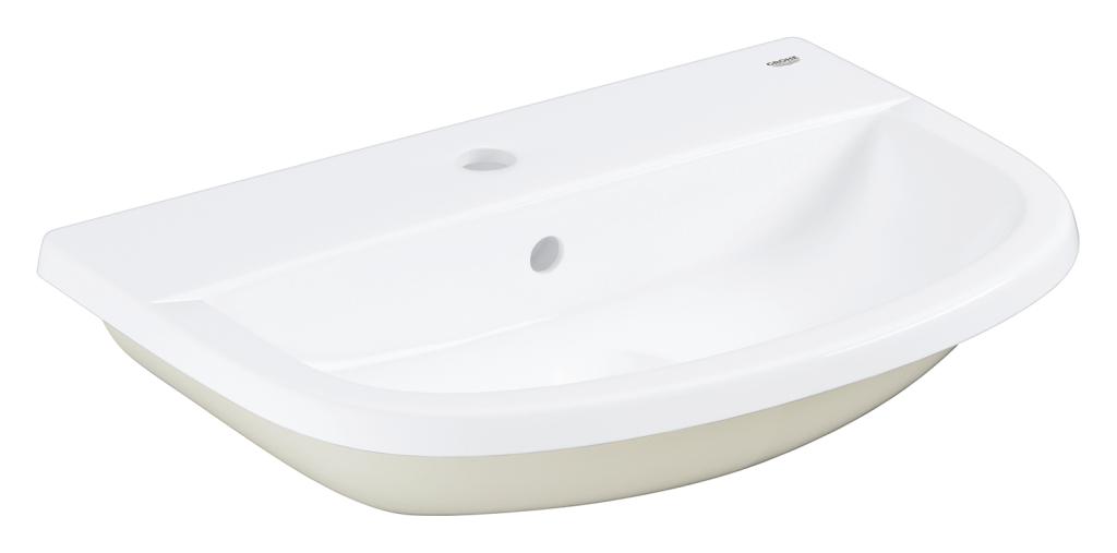 Grohe Bau Ceramic Umyvadlo s přepadem, 560 × 400 mm, alpská bílá 39422000