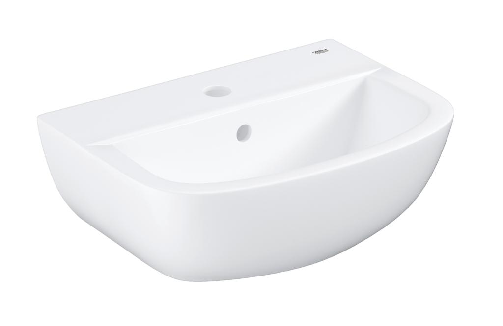Grohe Bau Ceramic Umyvadlo s přepadem, 453 × 354 mm, alpská bílá 39424000