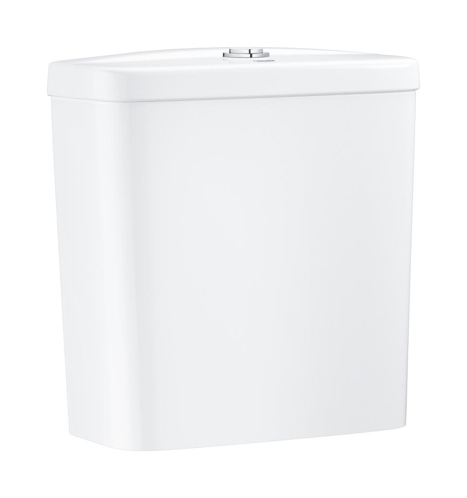 Grohe Bau Ceramic Splachovací nádrž k WC kombi, 343 x 153 mm, alpská bílá 39436000