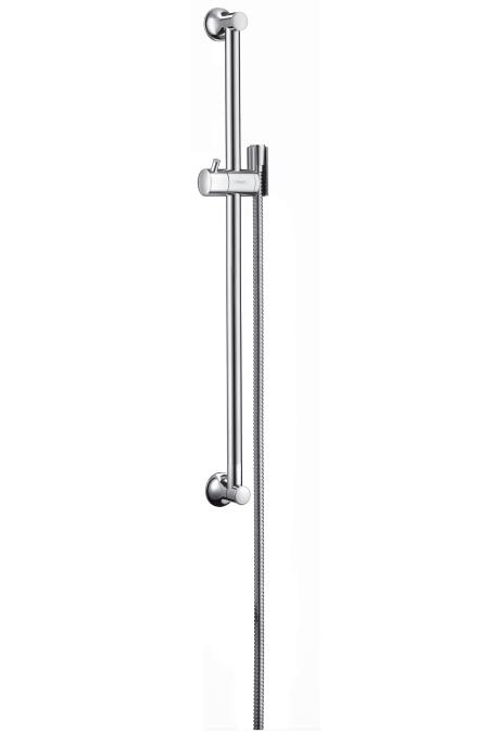 Hansgrohe Croma Classic Nástěnná sprchová tyč Unica'Classic 0,65 m, kartáčovaný nikl 27617820