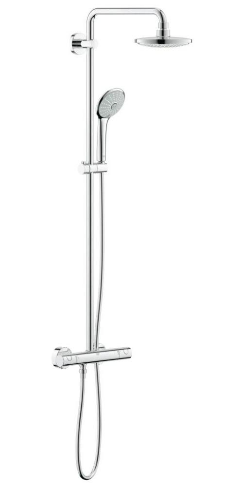 Grohe Euphoria Sprchový systém, 180 mm, chrom 27420001