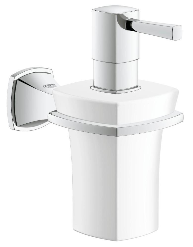 Grohe Grandera Keramický dávkovač tekutého mýdla, chrom 40627000