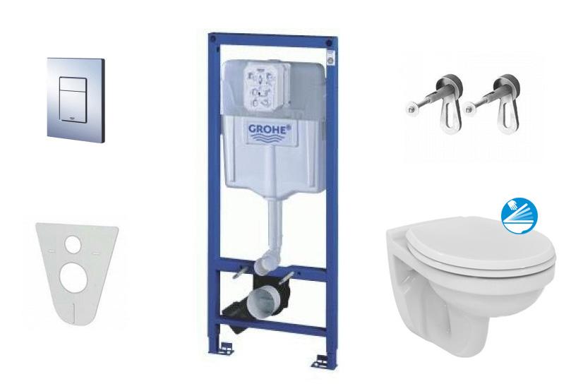 Grohe Rapid SL Sada pro závěsné WC + klozet a sedátko Ideal Standard Quarzo 38528SET-KD
