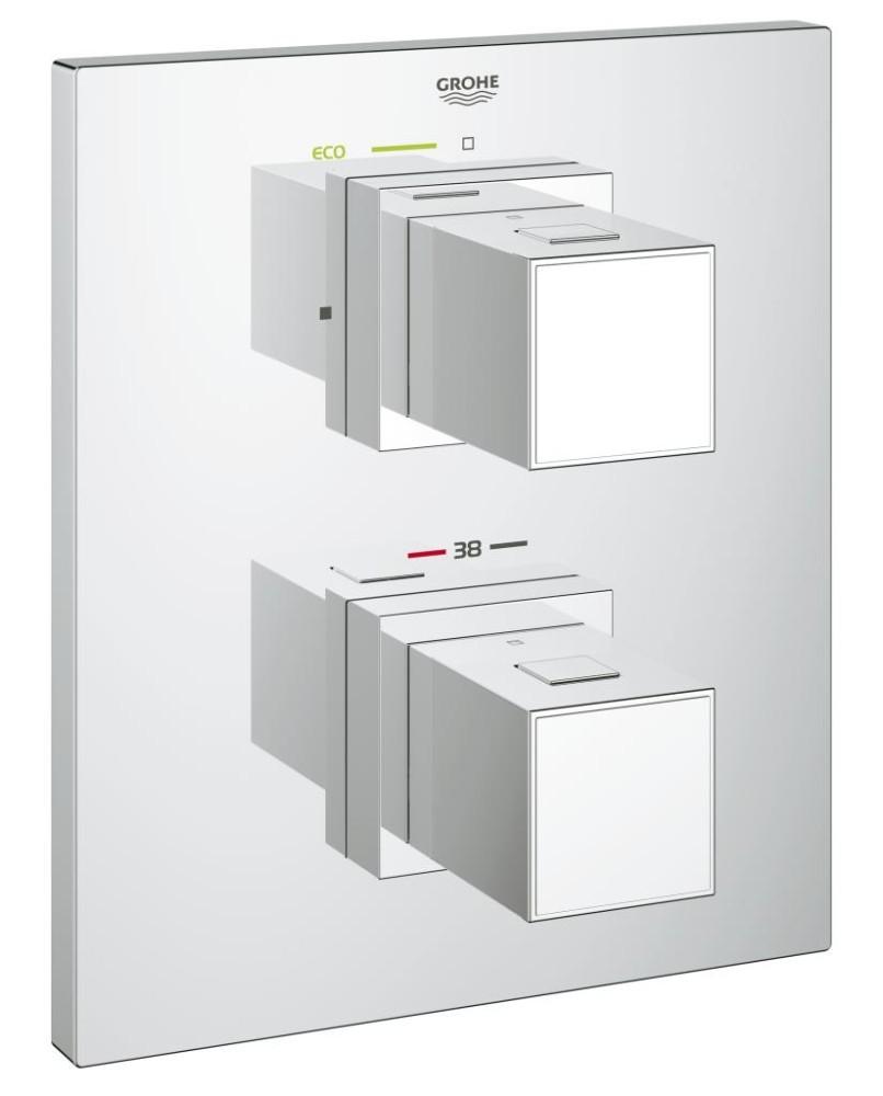 Grohe Grohtherm Cube Termostatická sprchová baterie pod omítku, chrom 19959000