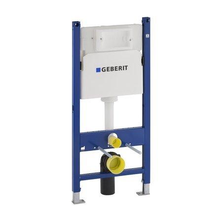 Geberit DUOFIXBasic pro závěsné WC, s nádržkou Delta, pro ovládací tlačítka Delta 111.153.00.1