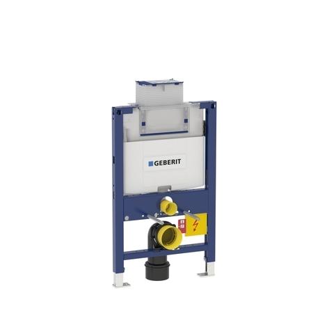 Geberit DUOFIX pro závěsné WC, 82 cm, s nádržkou Omega, pro ovládací tlačítka Omega 111.003.00.1