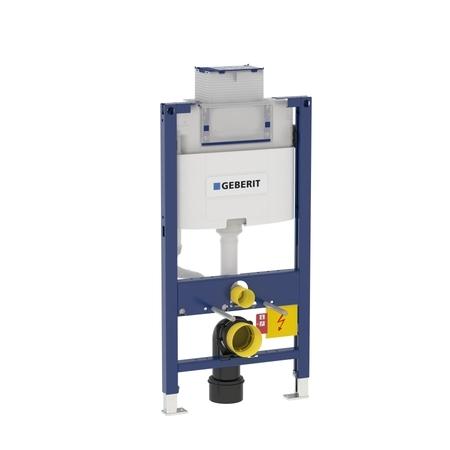 Geberit DUOFIX pro závěsné WC, 98 cm, s nádržkou Omega, pro ovládací tlačítka Omega 111.030.00.1