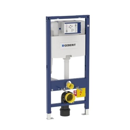 Geberit DUOFIX pro závěsné WC, 112 cm, s nádržkou Omega, pro ovládací tlačítka Omega 111.060.00.1
