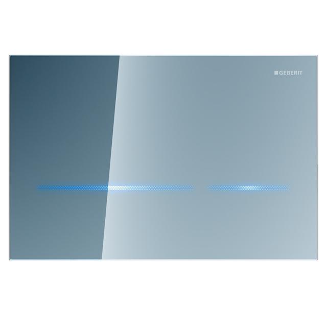 Geberit Ovládací tlačítko SIGMA80, elektronické, bezdotykové, sklo zrcadlové 116.090.SM.1