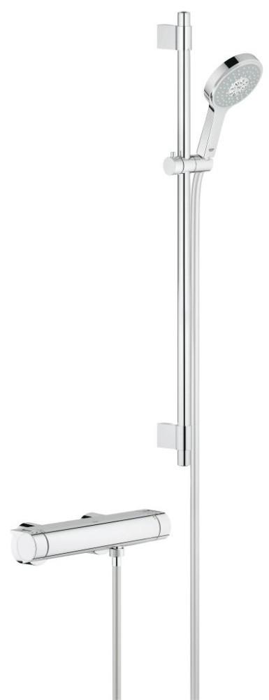 Grohe Grohtherm 2000 Termostatická sprchová baterie, sprchová souprava 900 mm, chrom 34482001