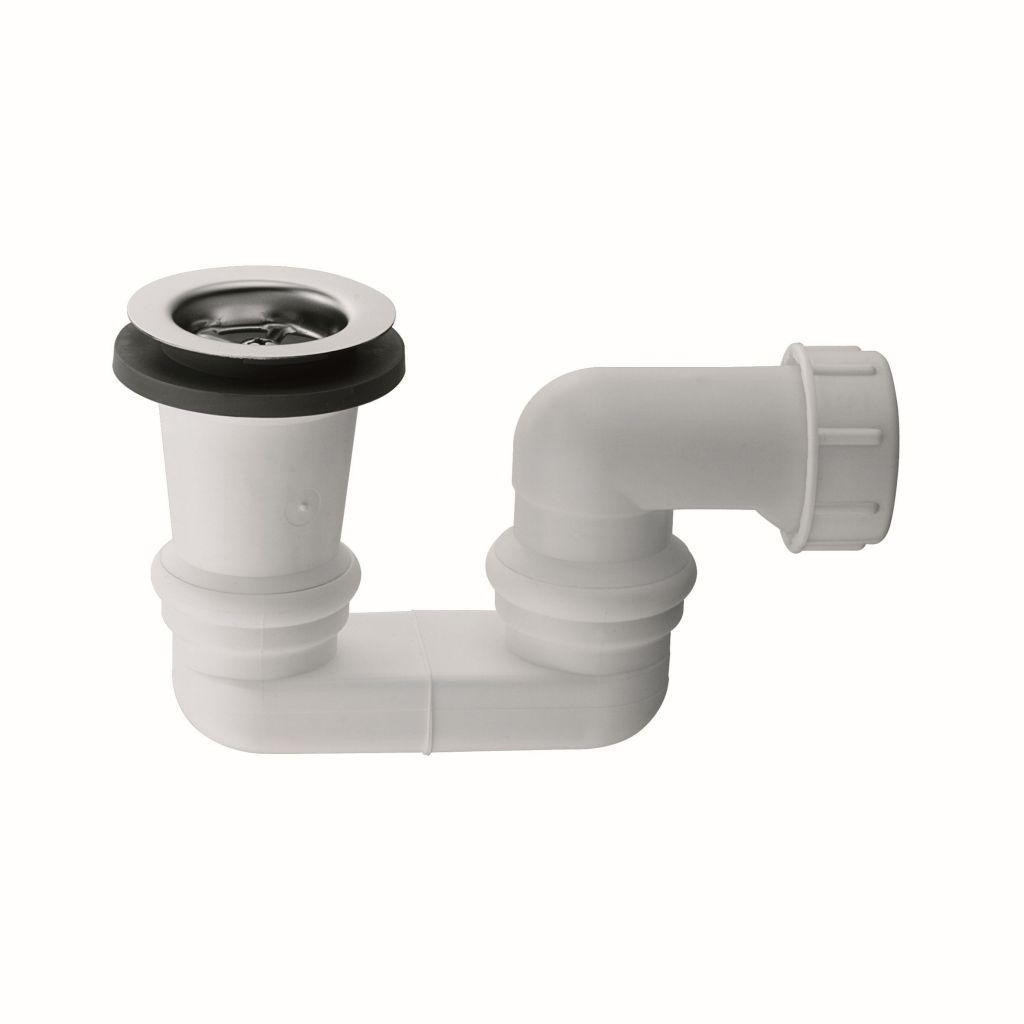 Kludi Sifony Sifon pro vany a sprchové vaničky, bílý 2138410-00