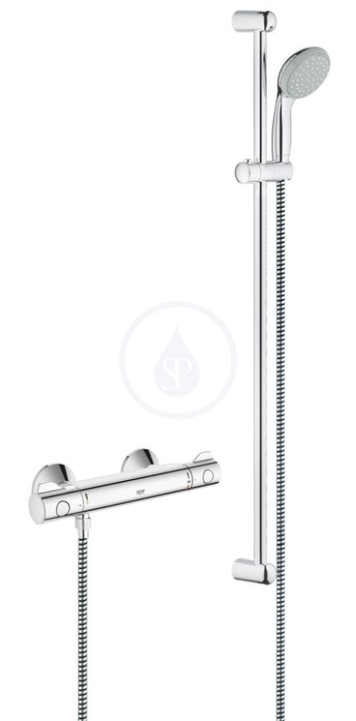 Grohe Grohtherm 800 Termostatická sprchová baterie, sprchová souprava 900 mm, chrom 34566000