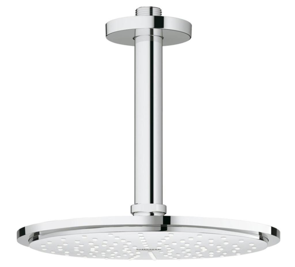 Grohe Rainshower Hlavová sprcha Cosmopolitan, průměr 210 mm, stropní výpusť 142 mm, chrom 26063000