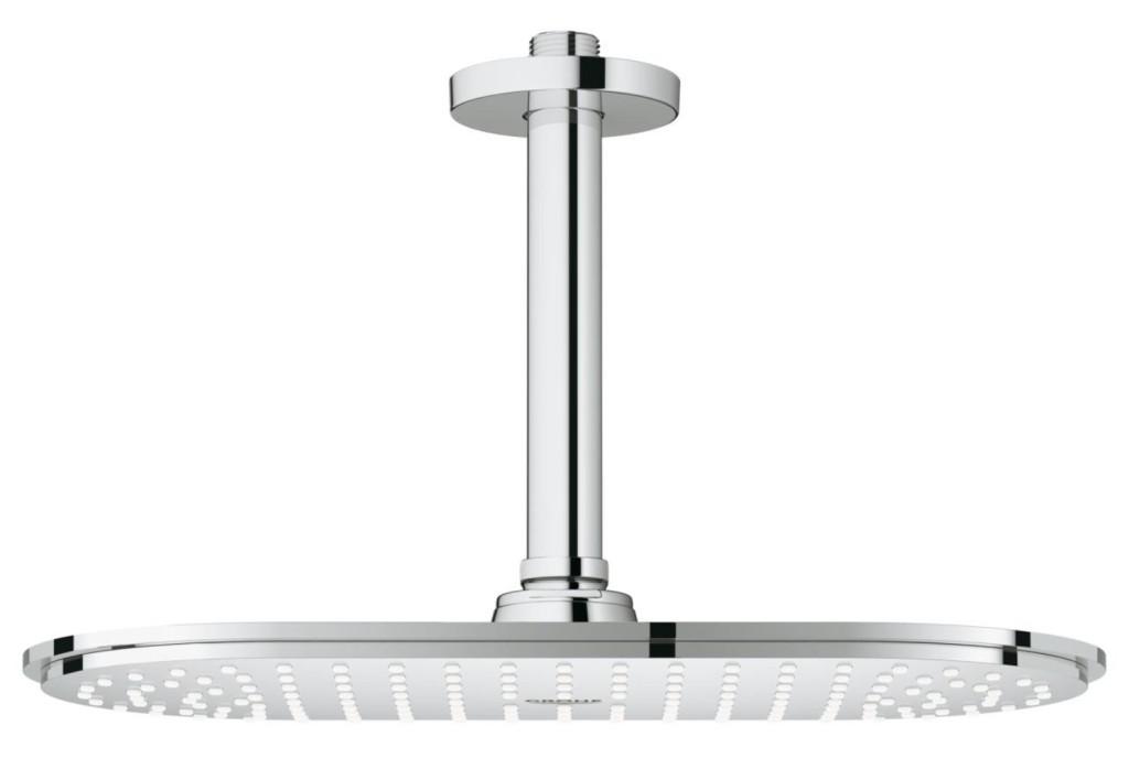 Grohe Rainshower Hlavová sprcha Veris, 300 x 150 mm, stropní výpusť 142 mm, chrom 26069000