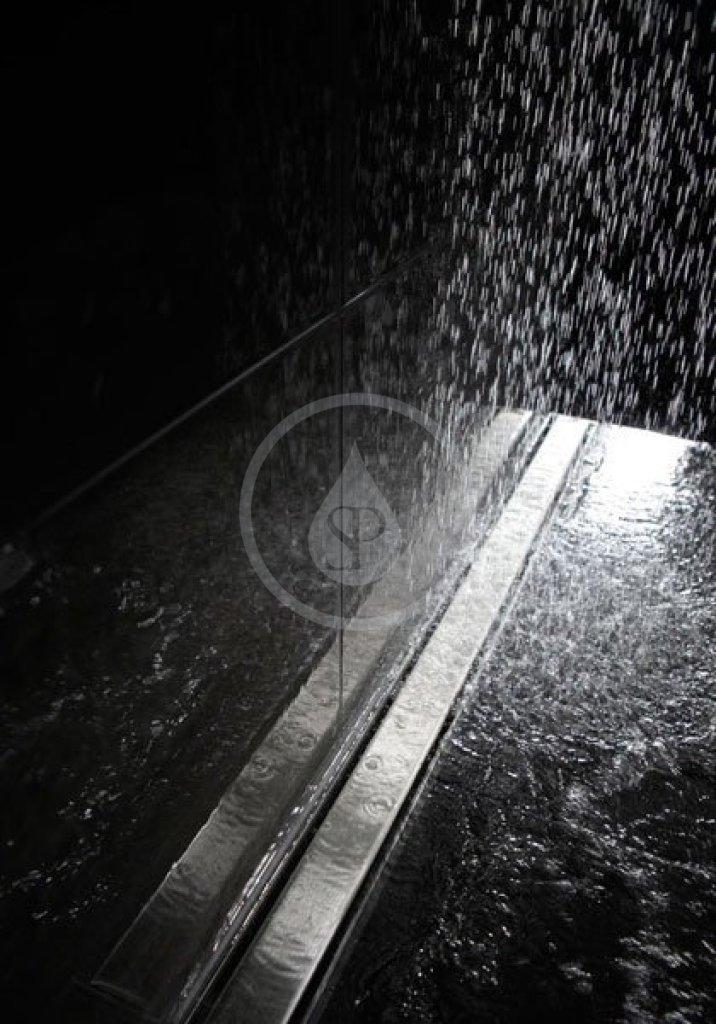 I-Drain Nerezový rošt pro sprchový žlab Plano lesklý, délka 600 mm IDRO0600F
