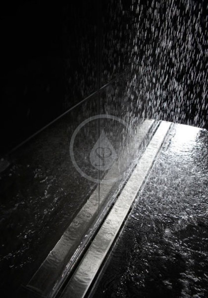 I-Drain Nerezový rošt pro sprchový žlab Plano matný, délka 1100 mm IDRO1100A