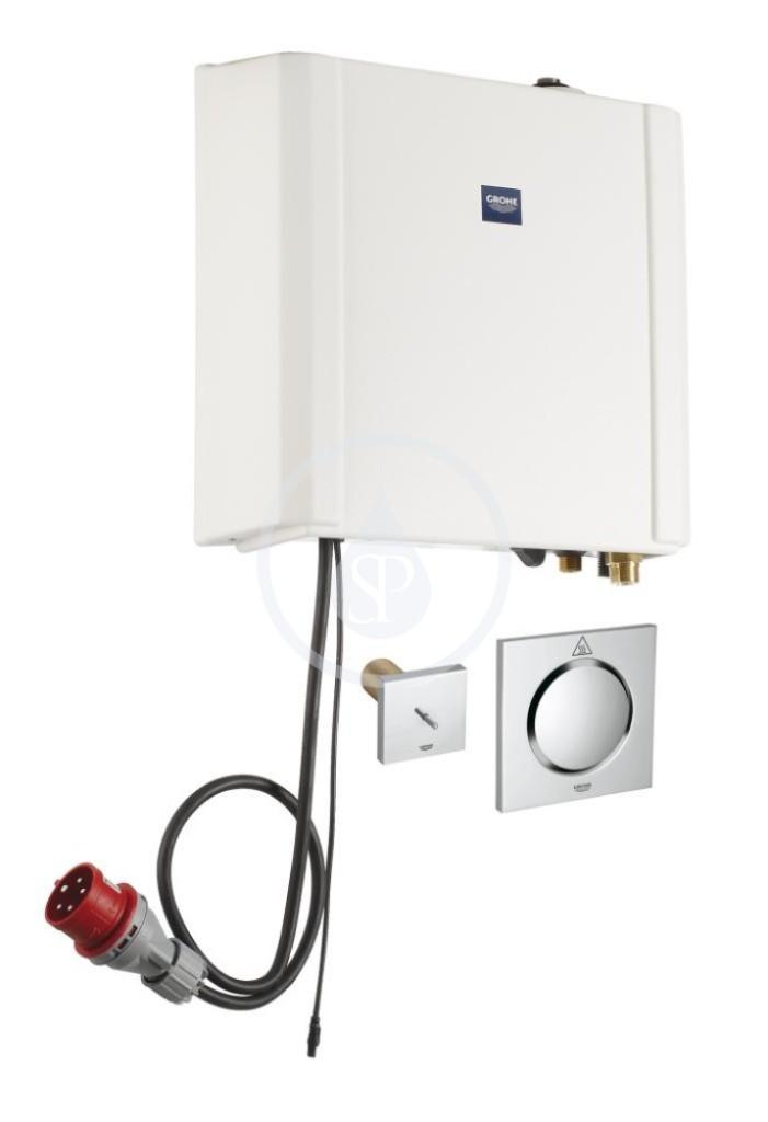 Grohe F-Digital Deluxe Parní generátor 6,6 kW s parním výstupem a teplotním čidlem 27934000