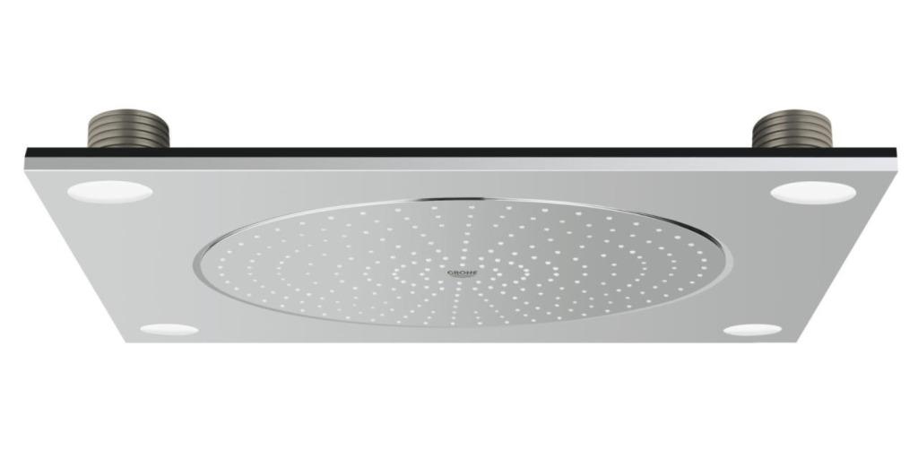 Grohe F-Digital Deluxe Stropní sprcha se světlem 27865000