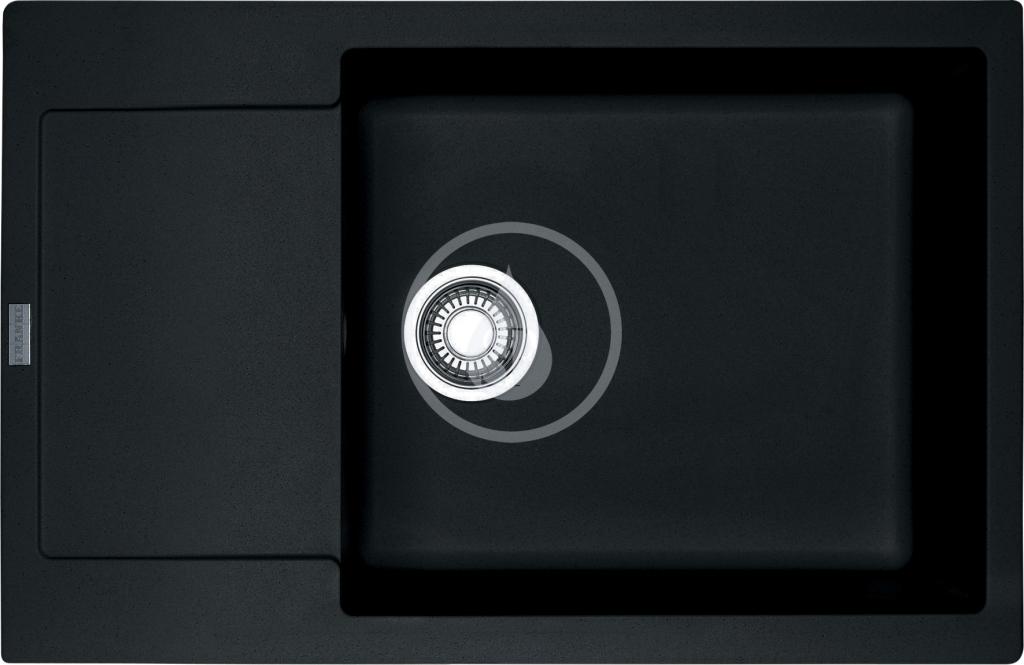 Franke Maris Fragranitový dřez MRG 611-78 BB, 780x500 mm, onyx 114.0363.187