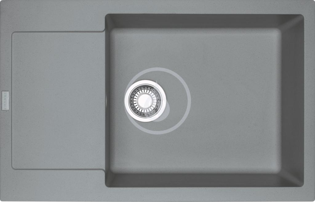 Franke Maris Fragranitový dřez MRG 611-78 BB, 780x500 mm, šedý kámen 114.0363.221