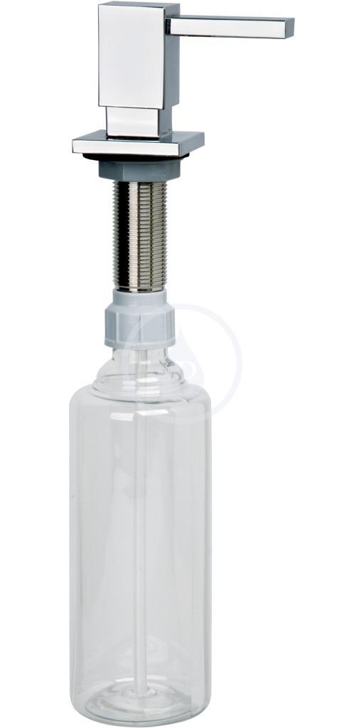 Franke Cube Dávkovač saponátu, 500 ml, chrom 119.0281.893
