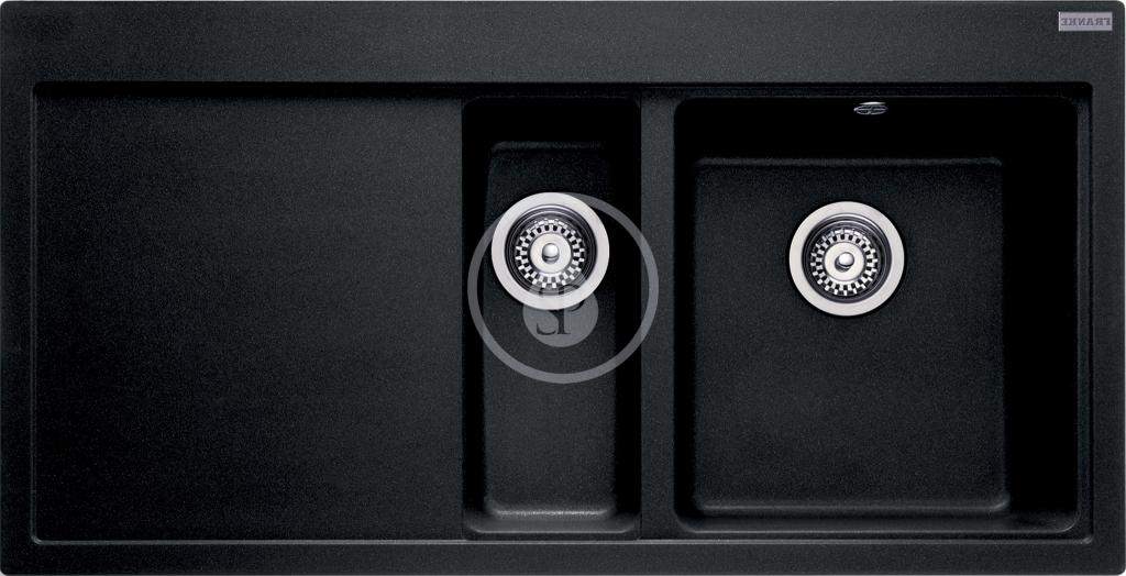 Franke Mythos Fragranitový dřez MTG 651-100, 1000x515 mm, pravý, onyx 114.0250.538