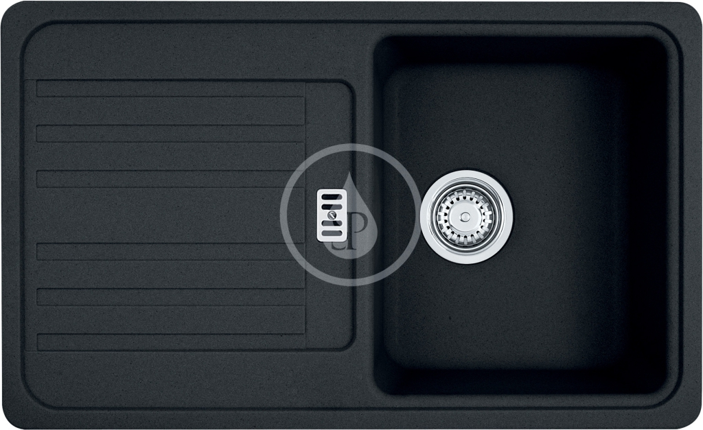 Franke Euroform Granitový dřez EFG 614-78, 780x475 mm, onyx 114.0250.532