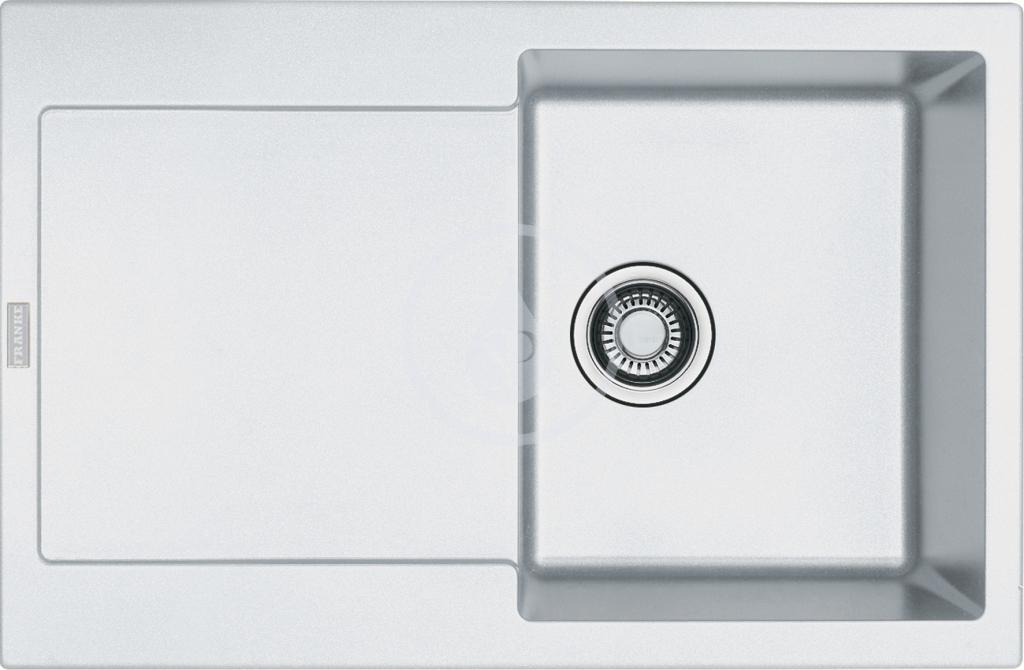 Franke Maris Fragranitový dřez MRG 611, 780x500 mm, bílá-led 114.0284.832