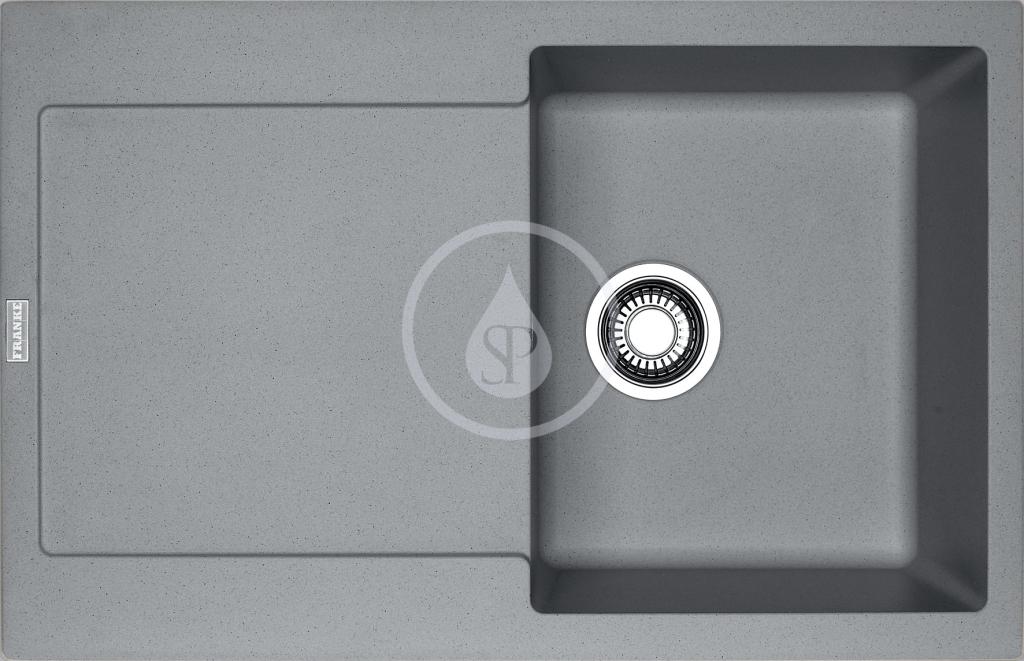 Franke Maris Fragranitový dřez MRG 611, 780x500 mm, šedý kámen 114.0284.846
