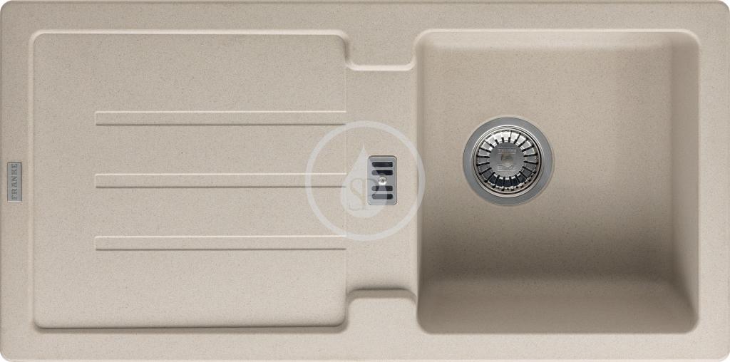 Franke Strata Fragranitový dřez STG 614, 860x435 mm, sahara 114.0263.978