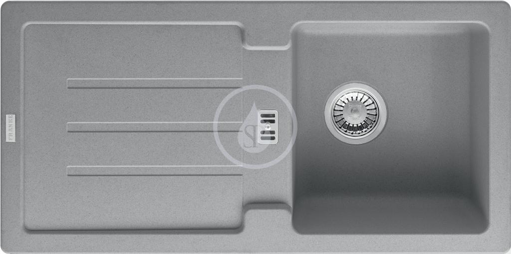 Franke Strata Fragranitový dřez STG 614, 860x435 mm, šedý kámen 114.0263.980