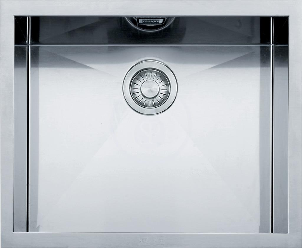 Franke Planar Nerezový dřez PPX 110-52, 560x450 mm 122.0203.471