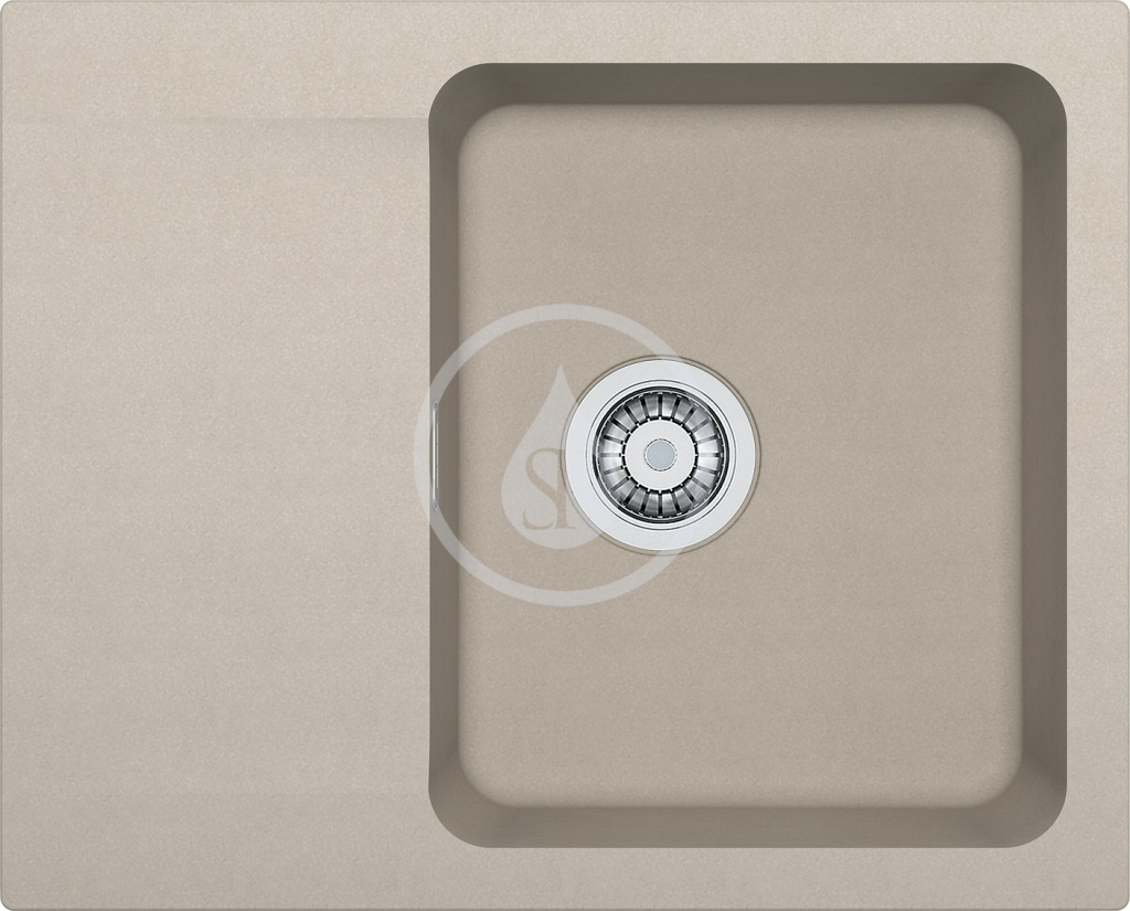 Franke Orion Tectonitový dřez OID 611-62, 620x500 mm, kávová 114.0288.584