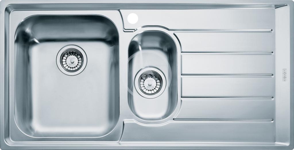 Franke Neptun Nerezový dřez NEX 251/2, 1004x514 mm, levý + sifon 127.0059.658
