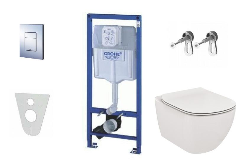 Grohe Rapid SL Sada pro závěsné WC + klozet a sedátko Villeroy & Boch 38528SET-KF