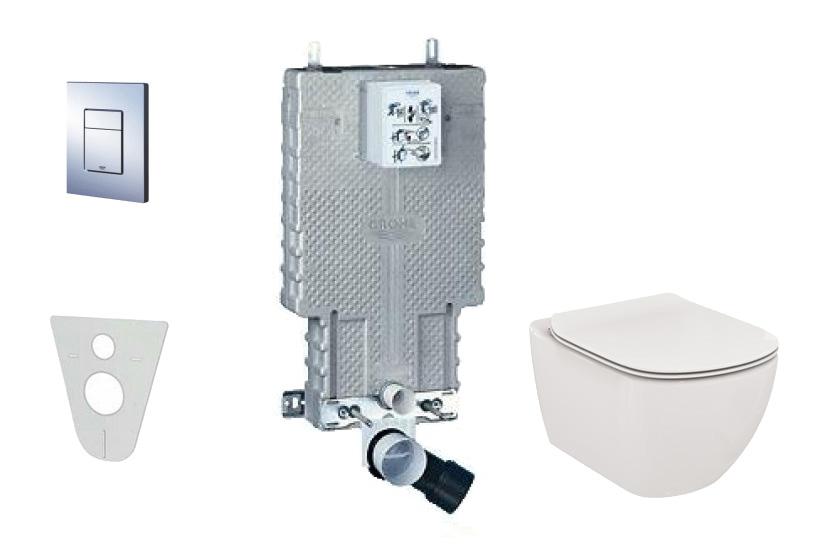 Grohe Uniset Sada pro závěsné WC + klozet a sedátko Villeroy & Boch 38643SET-KF