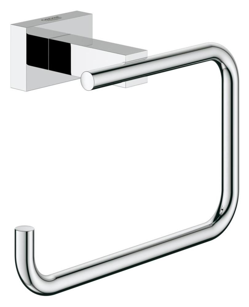 Grohe Essentials Cube Držák na toaletní papír, chrom 40507001