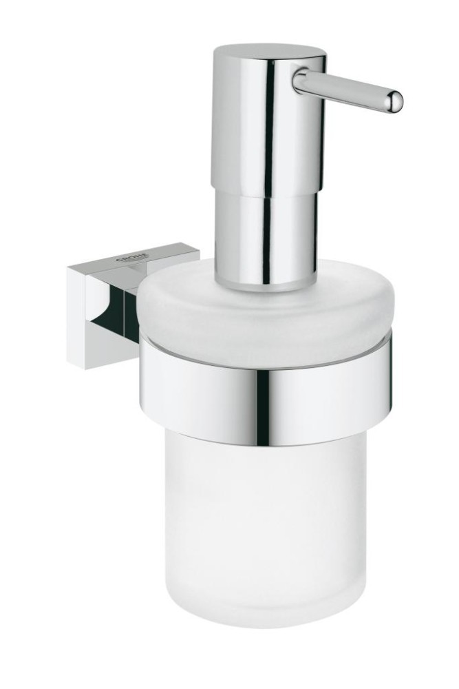 Grohe Essentials Cube Dávkovač tekutého mýdla, chrom 40756001