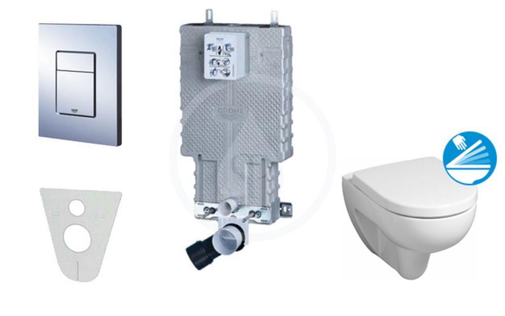Grohe Uniset pro závěsné WC, kompletní sada 38643SET-KC