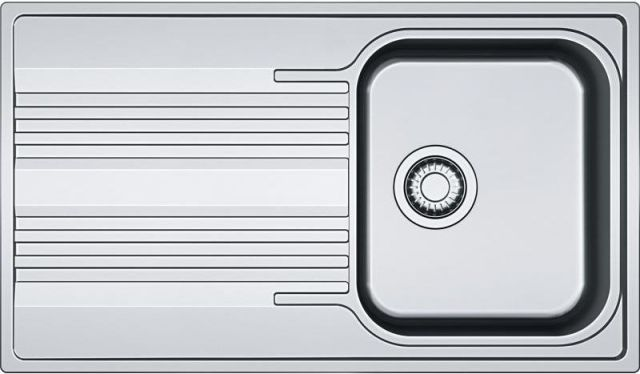Franke Smart Nerezový dřez SRX 611-86, 860 x 500 mm, sifon 101.0395.016