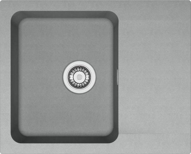 Franke Orion Tectonitový dřez OID 611-62, 620 x 500 mm, šedá 114.0395.160